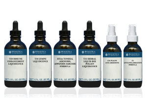 Biogetica Optimal Kit with T16 Lymph Liquescence