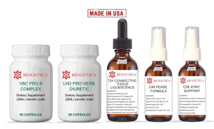 Biogetica Optimal Kit With Homeopathic Ligament formula