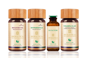 Rescue Kit With Hypericum Mysorense And Homeopathic H Factor – 80 Days Supply