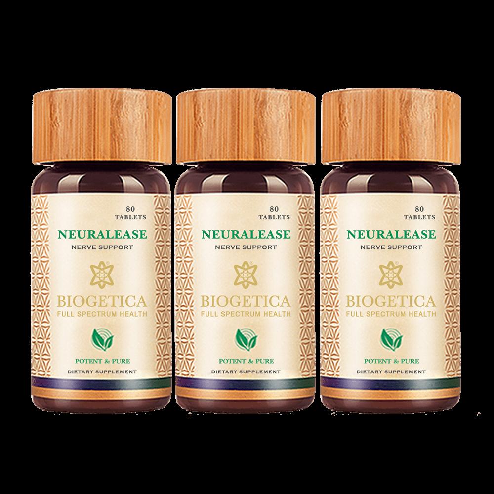 3 Bottles Neuralease Tablets