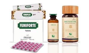 Doctor Recommended 4 Month Supply Biogetica Freedom Kit with OM 24 Formula and Femiforte tablets
