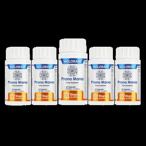 Pack of 5 Prana Mana