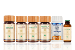 Doctor Recommended 6 Month Supply Salvation Kit With Hypericum Mysorense, Alclearize And Homeopathic H Factor