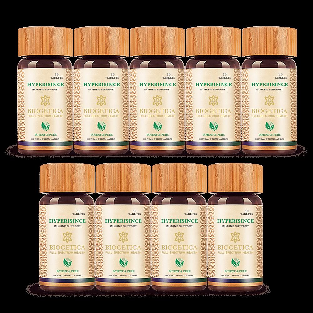 9 Bottle Hyperisince – 30 Tablets