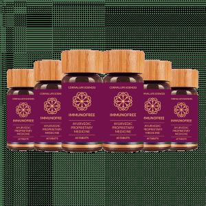 Immunofree 60 Pack of 6